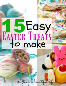 15 Easter Treats to make