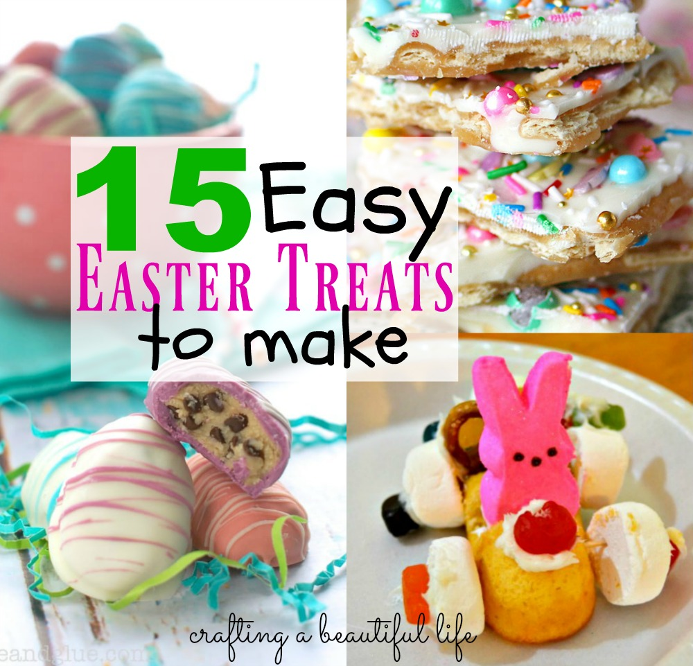 15 Easy Easter Treats to Make