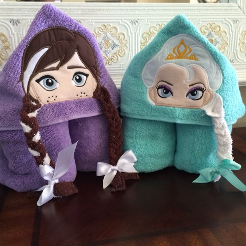Embroidery: Hooded Towels