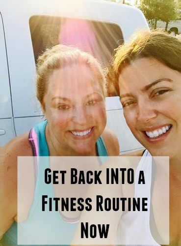 Get Back into an Exercise Routine