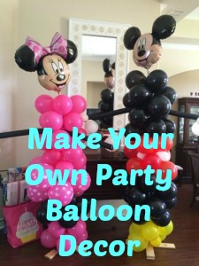 How to make your own Balloon Mickey & Minnie Mouse Party Decor