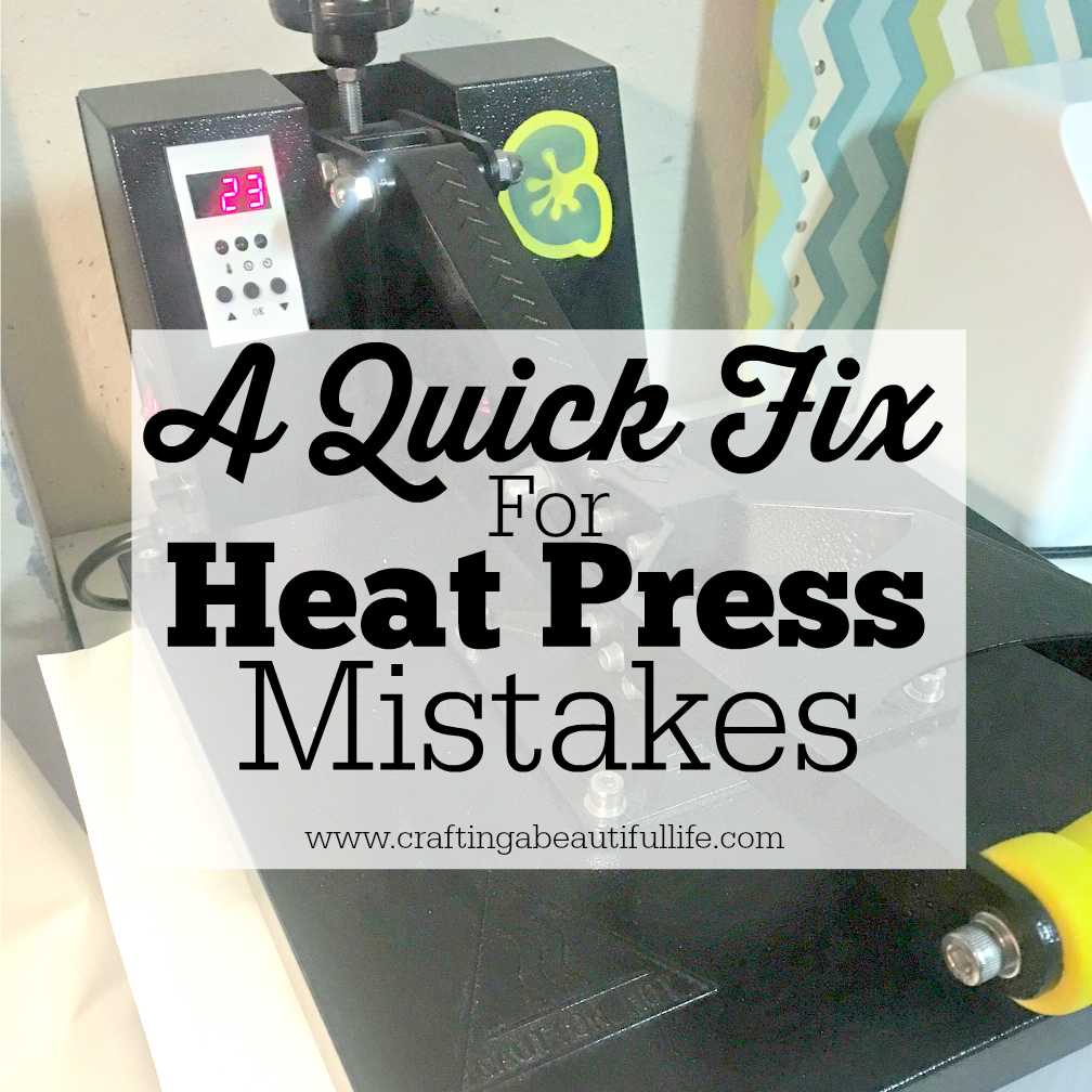 A Quick Fix Heat Press Mistakes