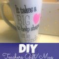 teachers DIY mug