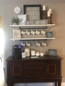 joanna gaines coffee station