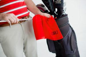 golf towel monogram