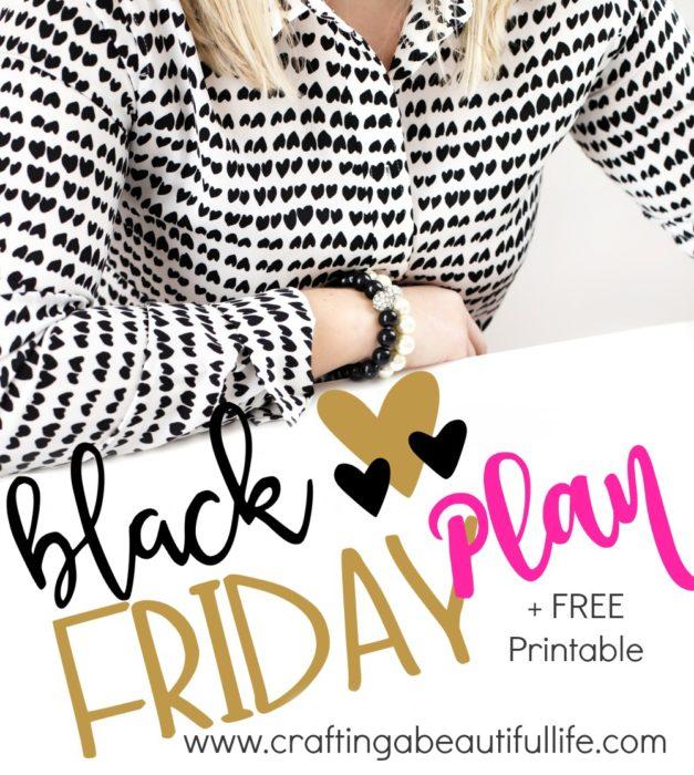 Create A Black Friday Budget & Plan
