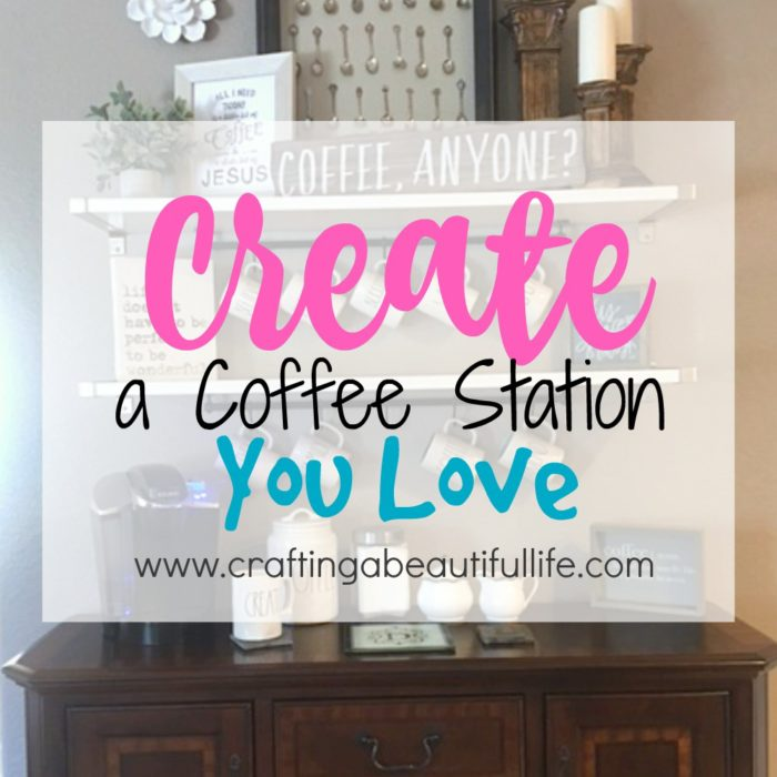 Creating A Coffee Station