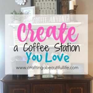 DIY Home Coffee Station