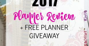 2017 Planner Options
