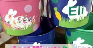 Last Minute DIY Easter Buckets