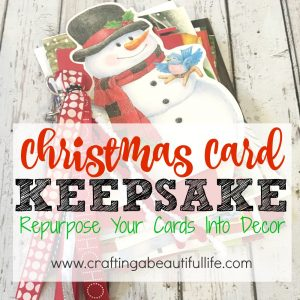 Christmas Card Keepsake