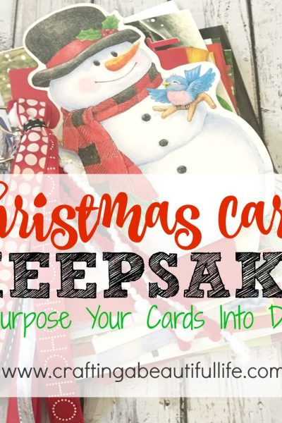 Christmas Cards Keepsake