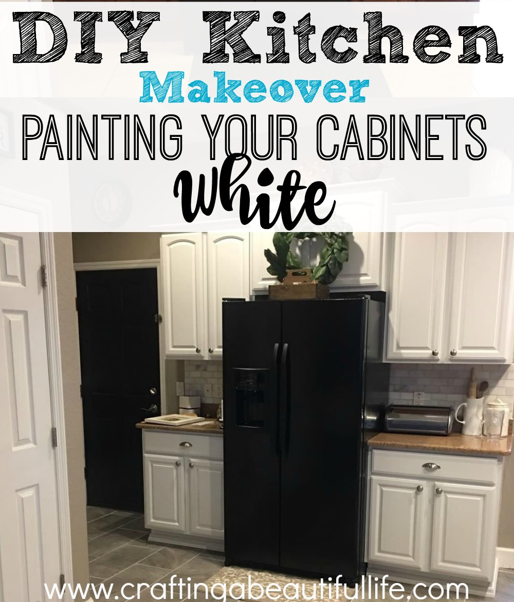 DIY Kitchen Makeover: Painting the cabinets
