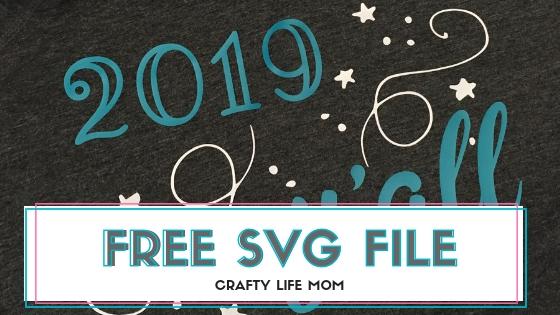 2019 Y'all SVG Cut file