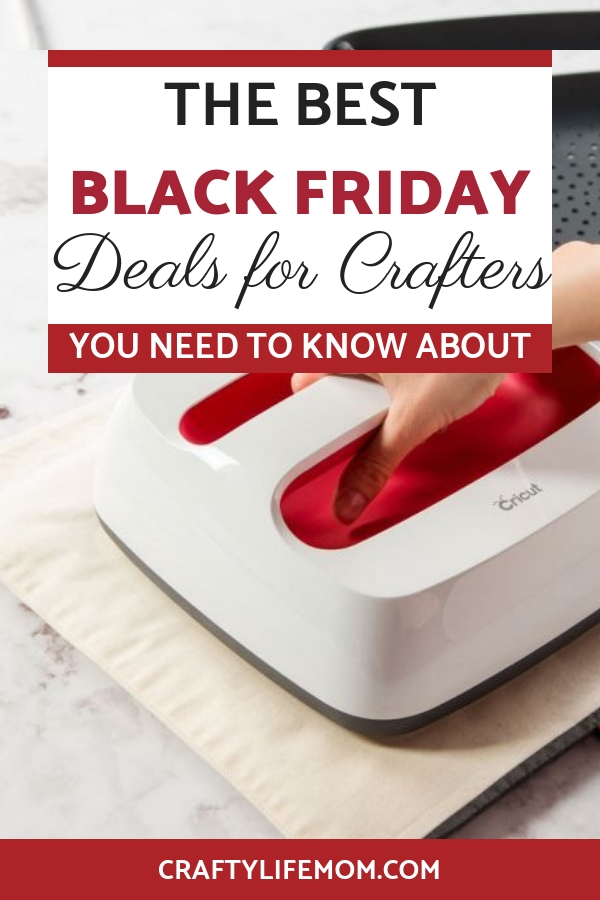Black Friday Deals for the Crafter. Check out these money saving craft deals on cutting machines and more.
