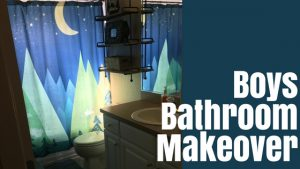 Boys Bathroom Makeover