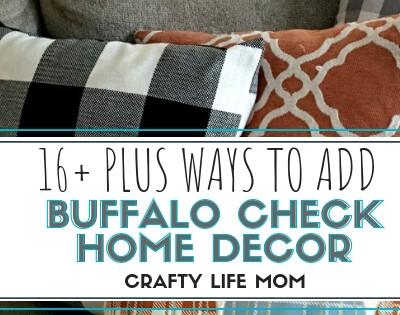 Buffalo Check Home Decor