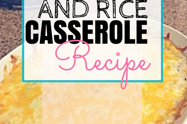 Chicken & Rice Casserole Recipe