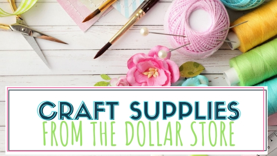 30 plus craft supplies from the Dollar Store. Find inexpensive craft items and supplies from the Dollar Tree. Use with your cricut or silhouette machines for making crafts and home decor.