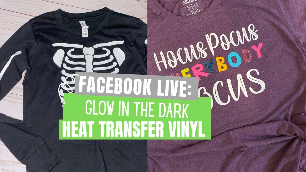 Glow In the Dark Heat Transfer vinyl from Stahls