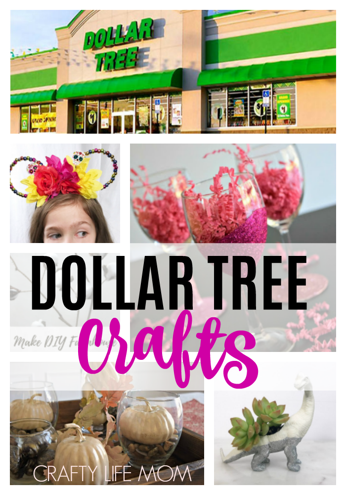 Dollar Tree Crafts you can make using these easy tutorials and step by step instructions on these cute dollar crafts.