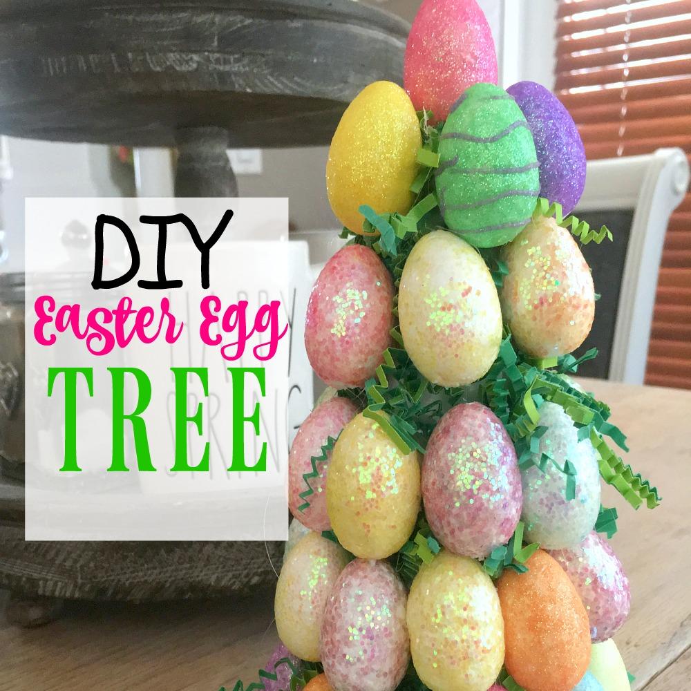 Dollar Tree Easter Egg Centerpiece