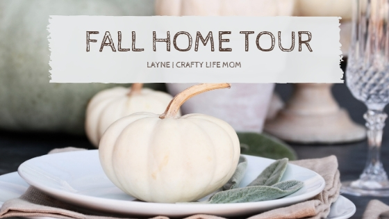 Check out my Fall Home Tour! Includes a video walk through plus link to tutorials of all of my DIYs. #fallhometour #falldecor #fallhomeDIYs #hometour