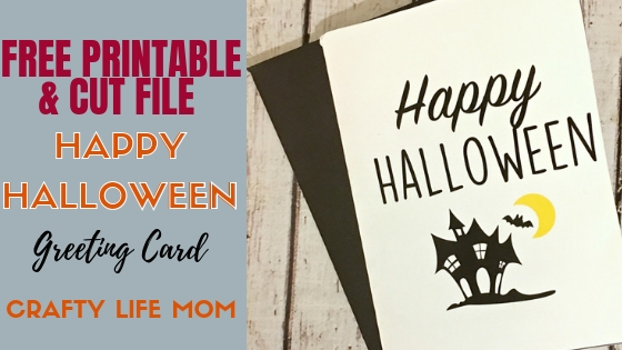 Halloween Craft Rae Dunn Inspired Card