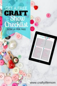 Craft Show Checklist