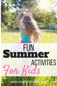 Summer Fun Activities for Kids
