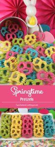 Spring TIme Pretzels