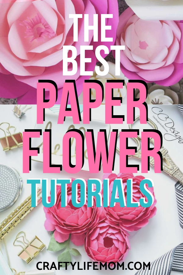 The Best Paper Flower Tutorials To Help You Create Paper Flowers