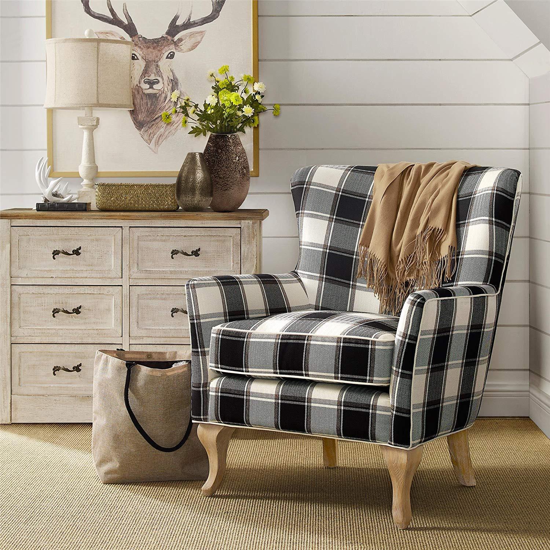 Buffalo Check Chair