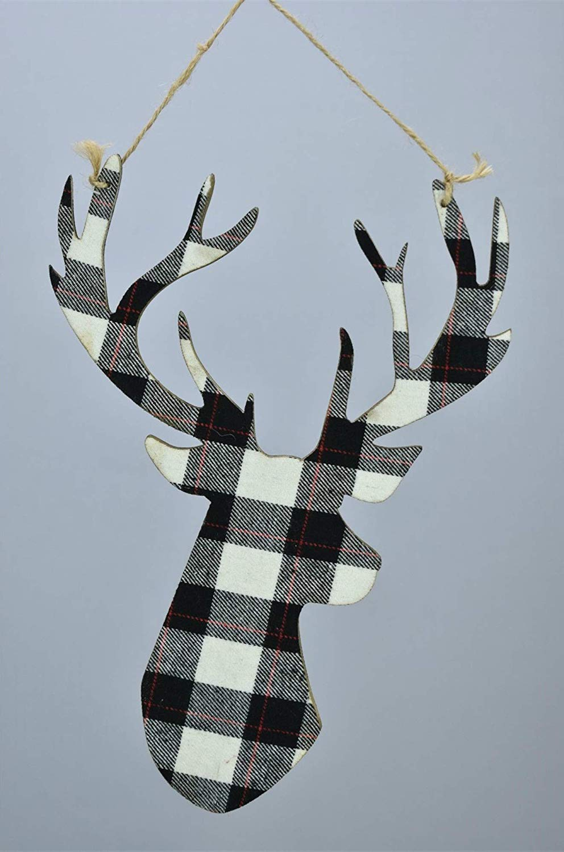 Reindeer Buffalo Check head